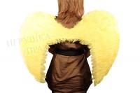 Крылья ангела желтые большие