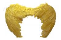 Крылья ангела детские желтые