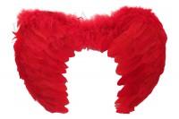 Крылья ангела детские красные