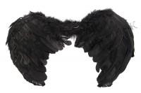 Крылья ангела детские черные
