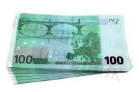 Билет банка приколов 100 Евро