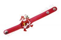 Браслет светящийся Санта