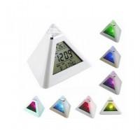 Будильник Пирамида светящийся