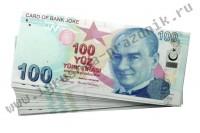 Билет Банка Приколов 100 турецких лир