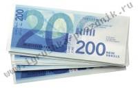 Билет Банка Приколов 200 израильских шекелей