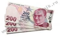 Билет Банка Приколов 200 турецких лир