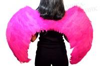 Крылья ангела малиновые большие