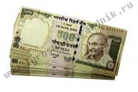 Билет Банка Приколов 500 индийских рупий