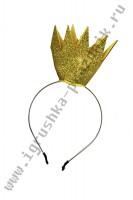 Корона блестящая на ободке
