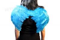 Крылья ангела малые голубые