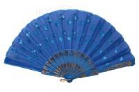Веер восточный голубой