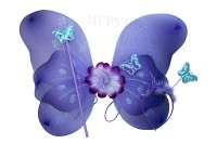 Крылья бабочки, ободок и палочка набор