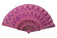 Веер восточный розовый