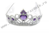 Корона карнавальная Виолетта