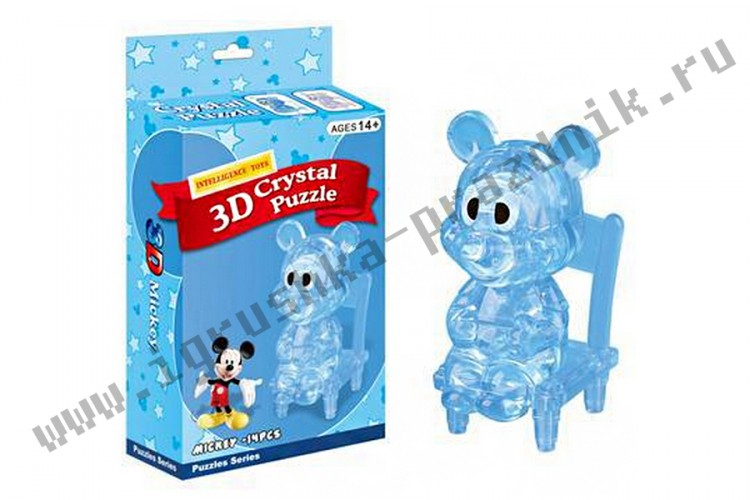 3D Crystal Puzzle Микки